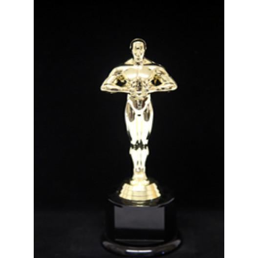"""Oscar Figure on Round Base - 8.5"""""""